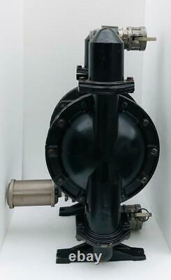 Ingersoll Rand Aro 666250-622-c Air Double Diaphragm Pump 2 Aluminium