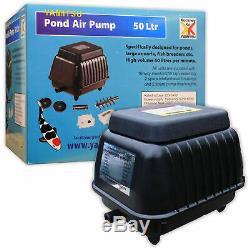 Kockney Koi Yamitsu Pond Air Pump 50L Water Oxygenator Health Fish Koi Garden