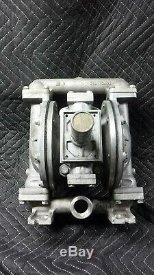 Lincoln 85634, 1 Air Powered Double Diaphragm Pump, SN 1554811