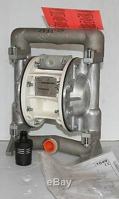MacNaught DDP25 1 Pneumatic Air Diaphragm Pump suit fuel transfer 174L/min