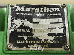 Marathon Air Powered Double Diaphragm Pump MP02P-73