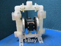 Marathon Air-Powered Double Diaphragm Pump MP03P TBP0 P3H0