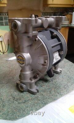MiniBoxer50 Brevettata DEBEM Double Diaphragm Aluminium Air Pump 1/2 inch pump