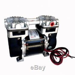 Mini 2 Stage 220V Diaphragm Dental Vacuum Medical Air Pressure Pump Oil Free