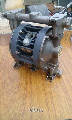 Mini-Boxer50 Brevettata DEBEM Double Diaphragm stainless steel Air 1/2 inch pump