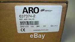 NEW ARO OEM Diaphragm Pump 637374-2 Air Valve Kit