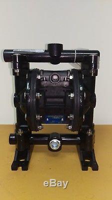 NEW Air Double Diaphragm 1/2 or 3/4 Aluminum Pump with Teflon Diaphragms