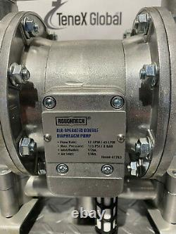 NEW Roughneck 41763 Air Operated Double Diaphragm Pump P-6