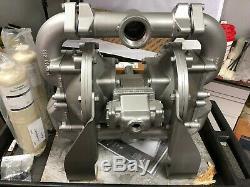 NEW SANDPIPER HDF2-DP6A Aluminum Air Operated Diaphragm Pump, 140 GPM 6WY76