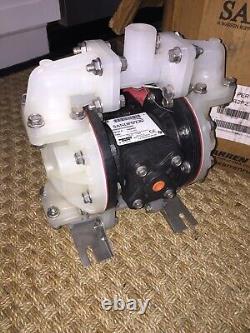 NEW SandPIPER Nonmetallic, Air Operated Diaphragm Pump S05B2P2TPNS000