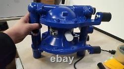New Depa dh25-fa-nnn Air operated diaphragm pump 90 Blue