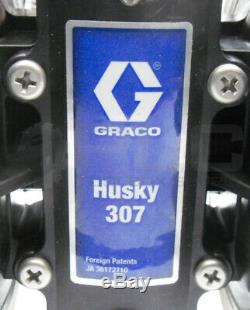 New Graco D31211 Husky 307 Air-operated Diaphragm Pump