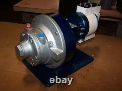 New Teqcom 1/4 Fnpt Air Driven Diaphragm Pump Ddp-i-air-rv1 Gast 2am-ncc-43a