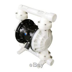 PP & Teflon Air-Operated Double Diaphragm Pump 26.4 GPM 1'' NPT Inlet & Outlet