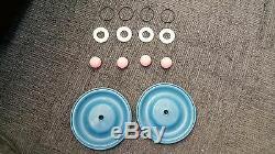 Plating International Air Diaphragm Kit for a 1/2 or 3/4 Air Diaphragm Pump