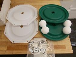 Pumper Parts service kit for for 3 air diaphragm pump. PP637303 TT