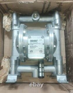 Roughneck 3/4 Air-Operated Double Diaphragm Pump, Flow Rate 16 GPM 115 PSI
