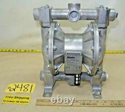 Roughneck #70636, Air-Operated Double Diaphragm Pump, Flow Rate 24 GPM 115 PSI