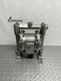 Roughneck Air-Operated Double Diaphragm Pump Aluminum 16 GPM 10 CFM 58240 Y-14