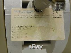 Rx-4259, Wilden 200 Air Operated Dual Diaphragm Pump. 1 P200/pkppp/wfs/wf/ktv