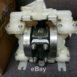 SANDPIPER Air Powered Double Diaphragm Pump PB 1/4-A TT-2-PP