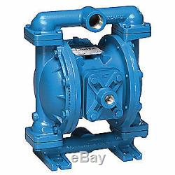 SANDPIPER Diaphragm Pump, Air Operated, Cast-Iron, S1FB1I1WANS000