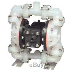 SANDPIPER Double Diaphragm Pump, Air Operated, 180F, S07B1P1PPNS000