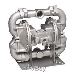 SANDPIPER Double Diaphragm Pump, Air Operated, 2, HDF2 DB6A