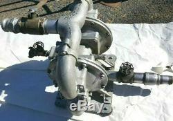 SandPiper SA2-A 2 DA-3-A Double Diaphragm Product/Wate Pump Air Powered 300PSI