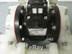 Sandpiper Air Operated S05B2K2TPNS000 Double Diaphragm PVDF 100 PSI Pump Level 2
