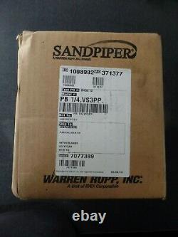 Sandpiper Air-operated Double-diaphragm Pump Pb1/4, Vs3pp