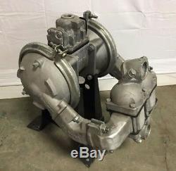 Sandpiper HDB1 1-1/2 Air Operated Diaphragm Pump, 105 GPM, Aluminum