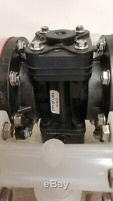 Sandpiper S07b1p1ppns000 Double Diaphragm, Polypropylene Pump S/n 2557415 New