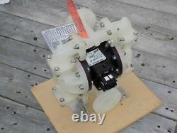 Sandpiper S10B1P2PPAS000 Polypropylene Air Double Diaphragm Pump