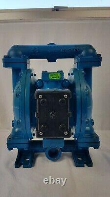 Sandpiper S1FB1A1WABS000 Air Powered Double Diaphragm Pump 125psi 8.6bar Rebuilt