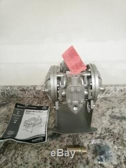 Sandpiper SB1 SGN5SS. 1 In NPT Inlet/Outlet Air Operated Double Diaphragm Pump