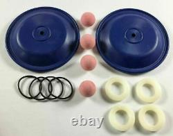 Santoprene Double Diaphragm Wet End Kit for a 2.00 Air Diaphragm Pump
