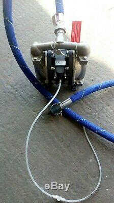 Serfilco Air Operated Double Diaphragm Pump Type SSBTF-1