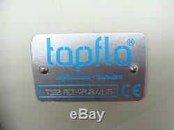 TapFlo T100 High Purity Air Operated PTFE Double Diaphragm Pump 125L/min PE Acid