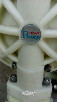 Tecnomatic Air Operated Diaphragm Pump TEP130-PTW