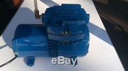 Thomas Industries Air Compressor Diaphragm Vacuum Pump Model# 727CM39-121
