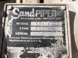 Used SandPiper ST1-A Double Diaphragm Pump Air Powered Type DNG-4-SS