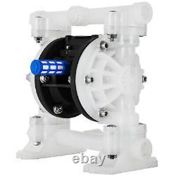 VEVOR 1/2 Air Diaphragm Pump Air Driven Double Diaphragm Pump With Valve Balls