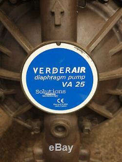 VerderAir Pump VA 25AA Diaphragm Pump Air Powered Pump