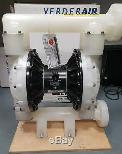 Verder Verderair VA50 2 Inch Air Diaphragm Pump PP, PP, TF, TF 810.4033