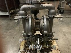 Versa-Matic Air Operated Diaphragm Pump- 1 1/2 Inlet, 316 Stainless