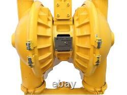 Versa-Matic E2AA6X660C-ATEX Double Diaphragm Pump, Aluminum, Air Operated, 2 in