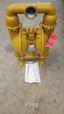 Versa-Matic E3aa2r220c-Atex Double Diaphragm Pump, Aluminum, Air Operated, Buna
