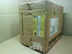 Versa-Matic E5AP3R339C Double Diaphragm Pump Aluminum Air Opera Factory Sealed