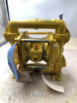 Versa-Matic Tool Co. VI, 0F TF/TF/TF Air Operated Double Diaphragm Pump